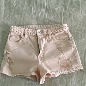 Tularosa: The Emma high-rise short (pink)